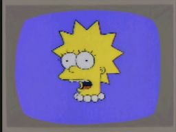 """With the aid of modern computer imaging, the dentist shows how grossly disfigured Lisa's face would become if her dental anomaly were to go unchecked."", -""Last Exit to Springfield"""