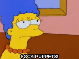 """Sock Puppets!"", -""Fear of Flying"""