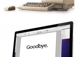 The MacIntosh - Hello to Goodbye - For Steve Jobs