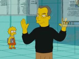 """Steve Jobs"", CEO of ""Mapple"", Simpsons"
