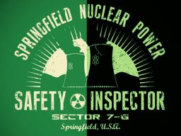 Springfield Nuclear Power Planet - Safety Inspector Sector 7-G
