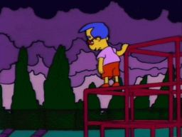 """It's recess everywhere but in his heart."", -""Bart's Friend Falls in Love"""
