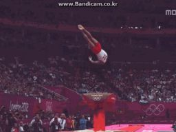 This is the Matrix - London Olympics Gymnastics Vaulting