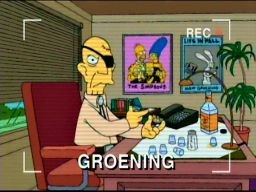 "Matt Groening: ""Get Outta My Office!"", -""The Simpsons 138th Episode Spectacular"""