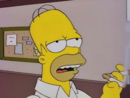 """I'm in flavor country"", -""Homer vs Patty & Selma"""