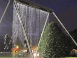 Swingset Waterfall