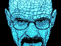 A portrait of Walter White from Breaking Bad.This design is… http://bit.ly/Vg4Io8
