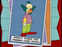 Krusty trading cards. The long awaited eighth… http://bit.ly/UltV4A