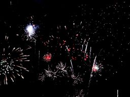 16 different fireworks clips all in one = finale infinity gif
